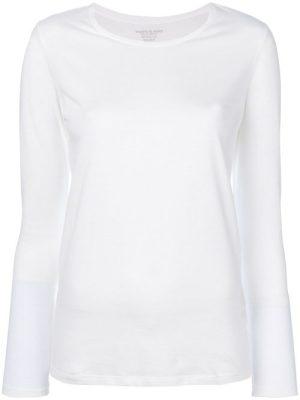 Sort eller hvit bomullstopp Majestic Filatures - H17E1902