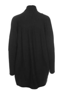 Sort merino ull lang cardigan Cathrine Hammel – 113.217 demi shawl cardigan