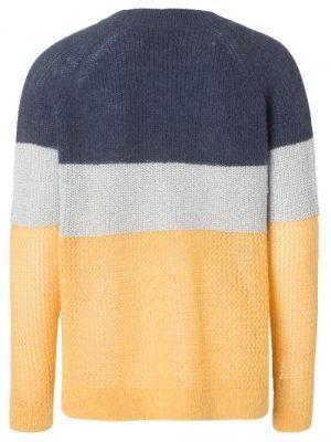 Gulsølvblåstripet genser Munthe - provence