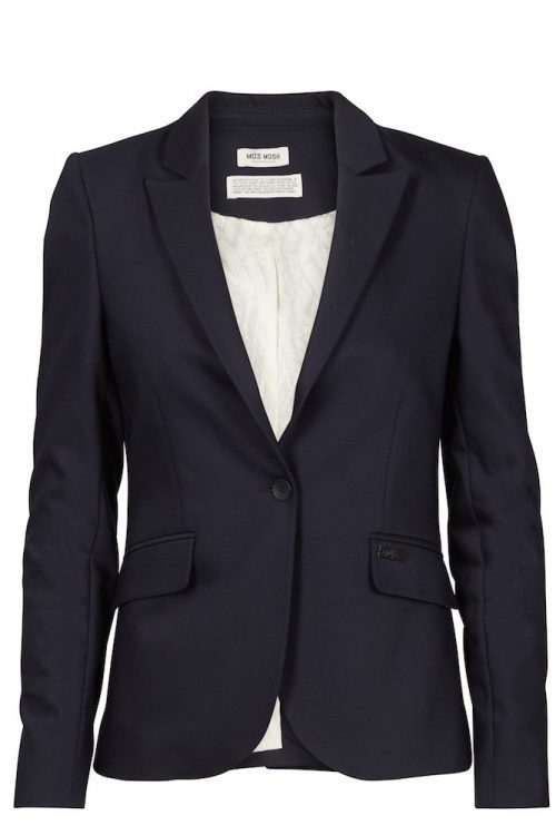 Sort eller navy blazer Mos Mosh - 112570 - Blake Night Blazer