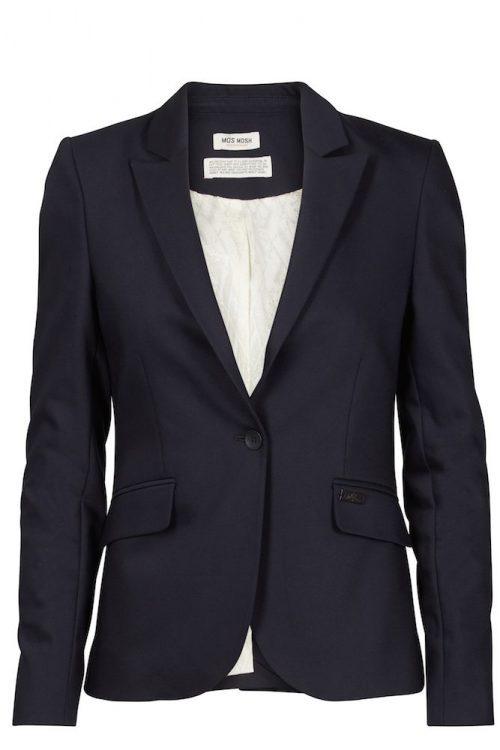 Sort eller navy blazer Mos Mosh - 112570 - Blake Night Blazer