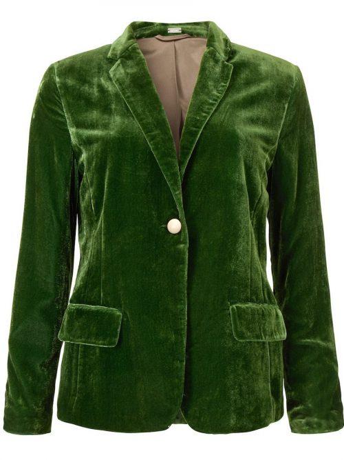 Guccigrønn fløyelsjakke Gustav - 28206-7126