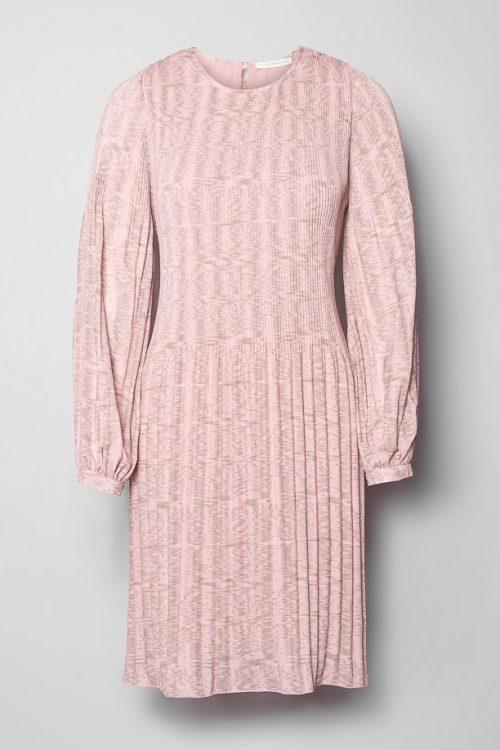 Rosaspettet kjole Cathrine Hammel - 1074 short miami dress