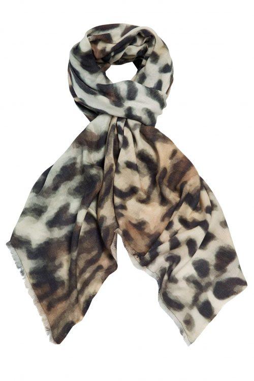 Cashmeremix leopard skjerf Katrin Uri - 906 original leopard