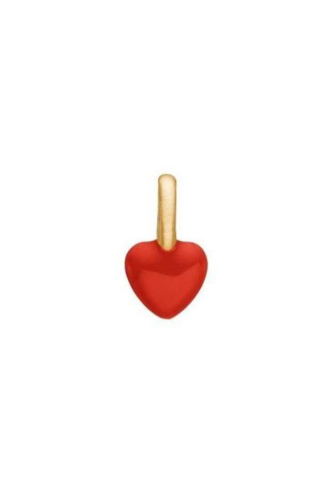 Charm 'Heart'Enamel Copenhagen