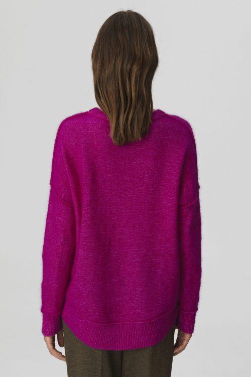Syklamen mohairmix genser By Malene Birger - Biagio sweater Q56560107