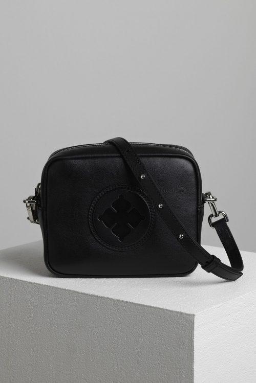 Sort eller brun skinn 'mini bag' By Malene Birger - Gemma Mini bag Q66986002 18 x 14.5 x 6.5cm