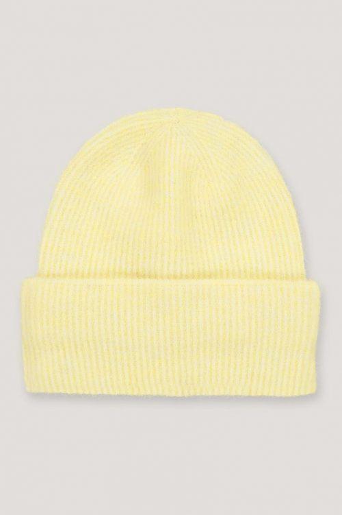 Gul alpakkamix lue Samsøe Samsøe - nor hat