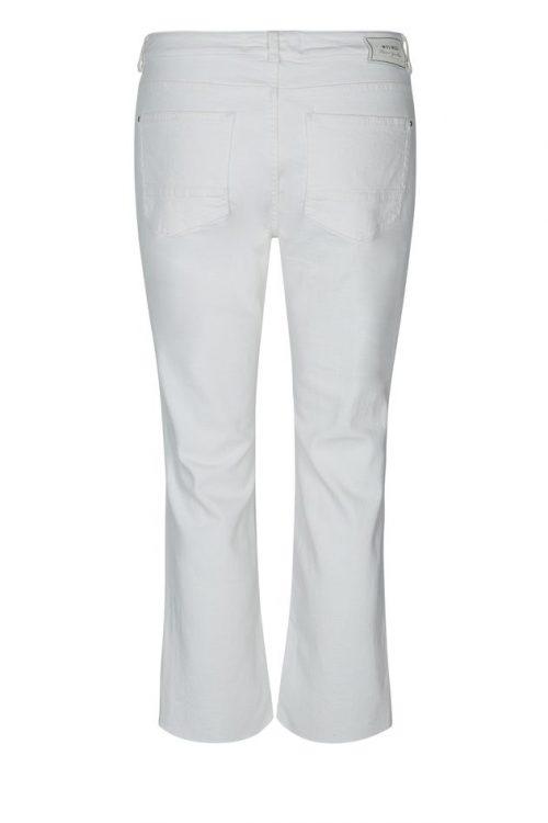 Hvit kick flare bukse Mos Mosh - 126800 simone colored pant