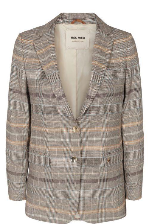 Brown check blazer Mos Mosh - 127120 mary fay blazer