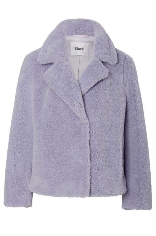 Dus lavendel teddy jakke Stand - marion jacket