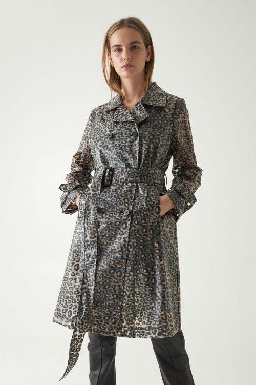 Supercool leopard regnfrakk Stand - 60642 betanie trench - 8670
