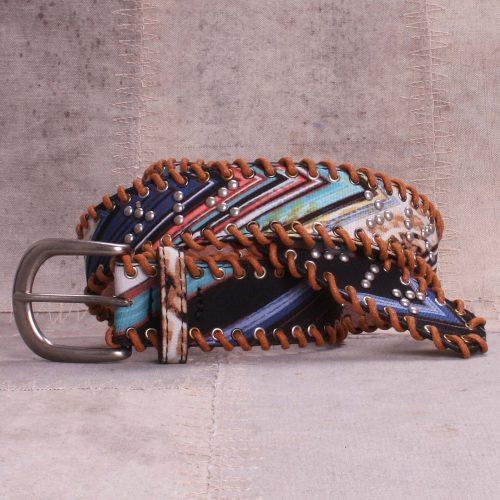Multifarget blå belte Bæltekompagniet - BK819-10