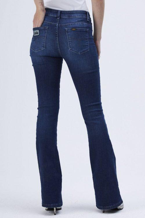 Dark stone 'Raval' flare jeans Lois Jeans - 2007-5707-marconi-mist L32 og L34
