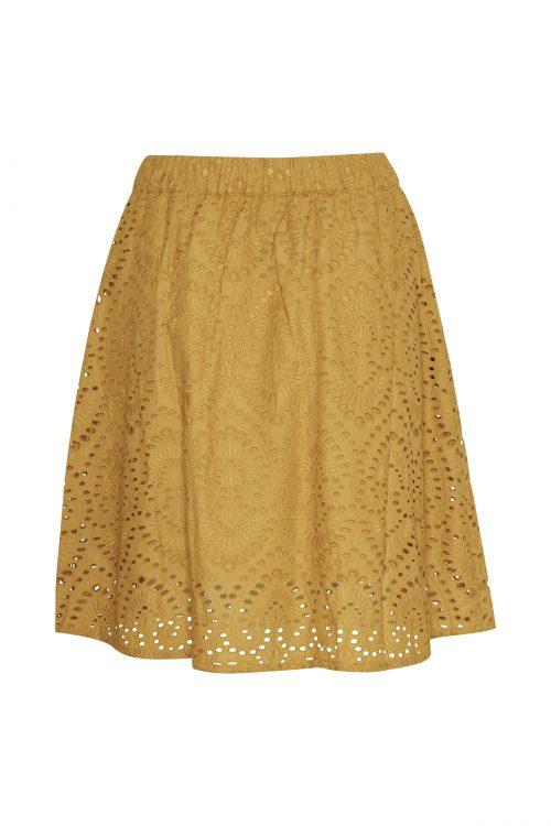 Golden blondeskjørt Gestuz - 3268 casana gz skirt