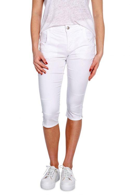 Hvit capri bukse Mos Mosh - 128040 lisa air pant