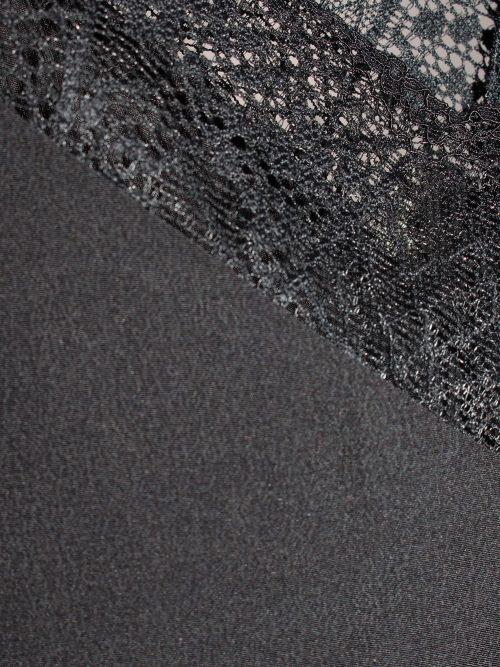 Sort eller sand silke singlett med blonde Gestuz - malvia singlett 2250