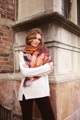 Kitt 100% ull genser med splitt nederst Katrin Uri - 320 daria long pullover
