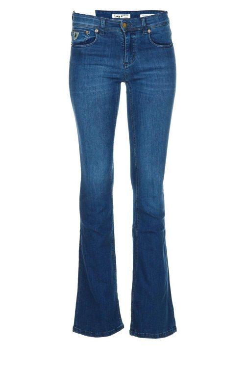 'Melrose' flare jeans Lois Jeans - melrose leia teal L32/L34