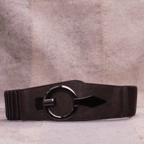Sort eller brunt elastisk hoftebelte Bæltekompagniet - Ela
