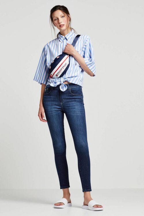 Smal high waist jeans Lois Jeans - Celia marconi mist L32 og L34