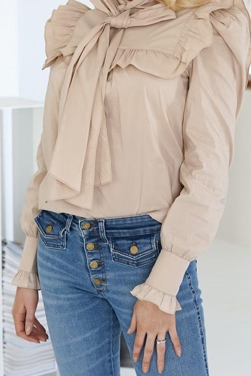 Tøff flare jeans med klafflommer Lois - yoko 2490-6034 harry stone L32 og L34