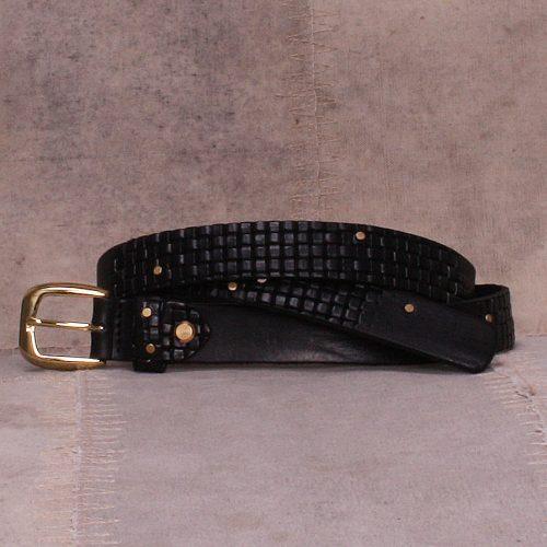 Sort eller brunt belte Bæltekompagniet - 2042-10