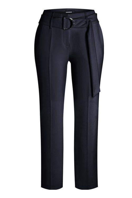 Blå litt videre bukse med belte Cambio - 6030 0347-00 kaia 27