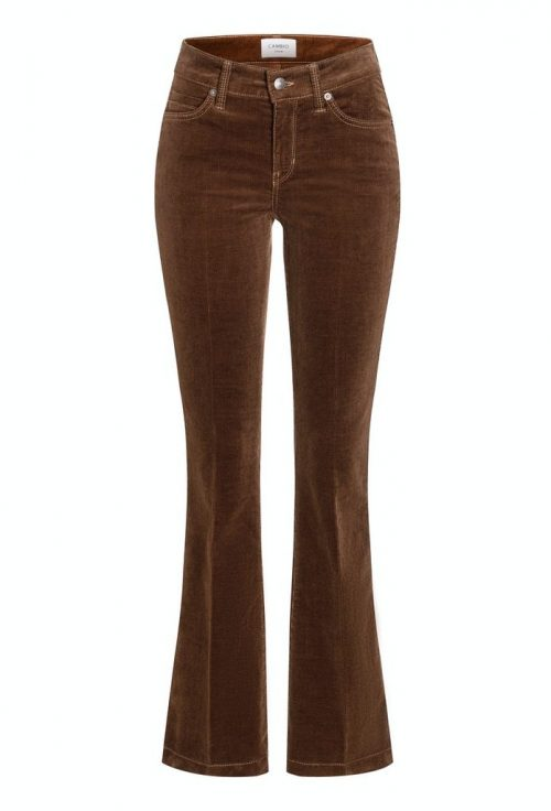 Sweet chocolate mini cord flare bukse Cambio - 7140 0047-10 parla flare 34