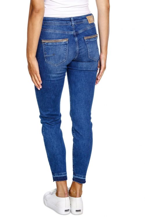 Jeans med dekor Mos Mosh - 134211 sumner jewel ankle jeans
