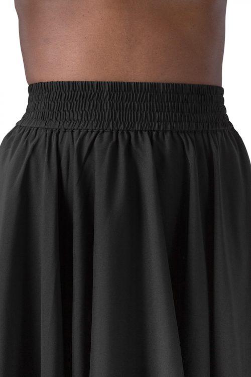 Sort eller offwhite a-skrådd skjørt Cathrine Hammel - 3102 plain miami skirt