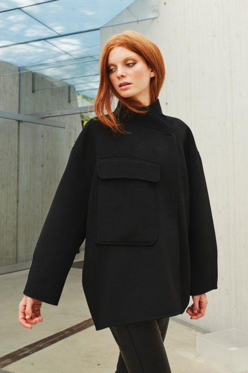 'The new short wool coat' Katrin Uri - 504 the new short wool coat