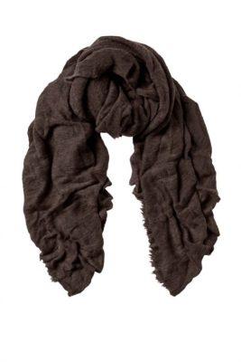 Warm brown cashmere skjerf Natura Cashmere - luxury warm brown