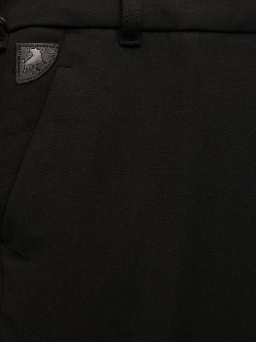 Sort, blåsort eller gråmelert dressbukse Lois – Silvia