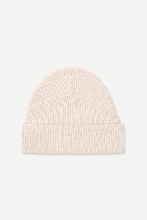 Brun eller krem 100% cashmere lue Samsøe - 6304 bernice hat