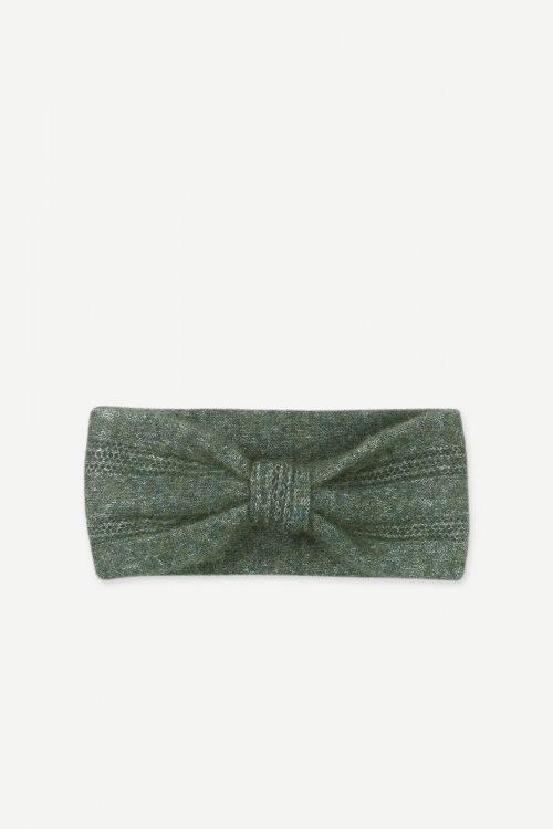 Sort, gråmelert, lavendel, grønnmelert eller rødkorall aplakkamiks pannebånd Samsøe - 7355 nor headband