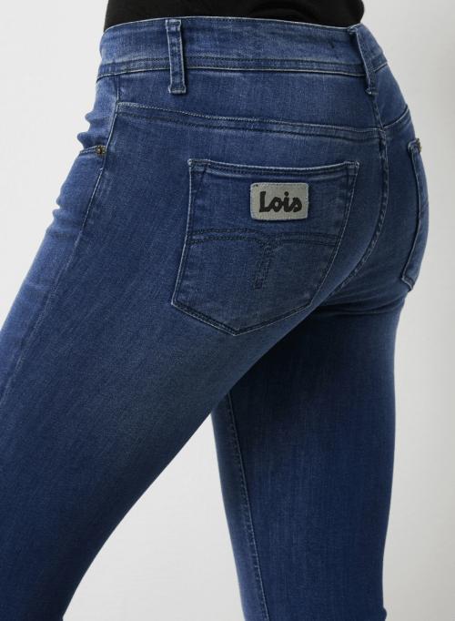 Supermyk 'Melrose' flare jeans Lois Jeans - melrose leia teal L32/L34