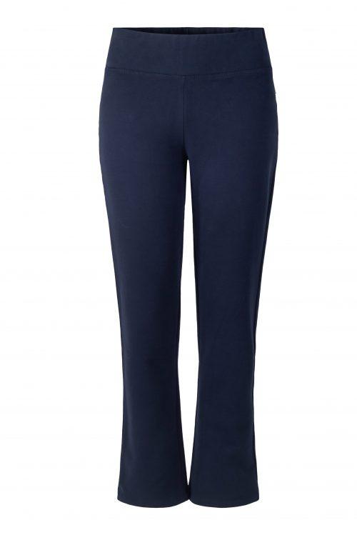 Navy collage cropped bootcut pants Ella&Il - elma pants