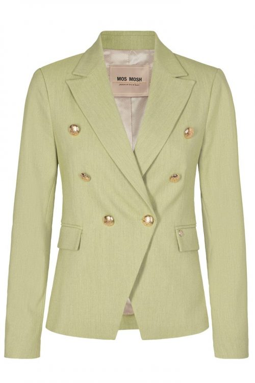 Winter pear blazer med gullknapper Mos Mosh - 123601 belize twiggy blazer