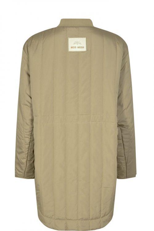 Winter moss vablet sporty ytterjakke med glidelås Mos Mosh - 137830 sila quilted coat
