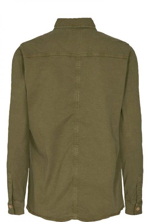 Winter moss bom sporty skjortejakke med dekor Mos Mosh - 138380 selby trail shirt