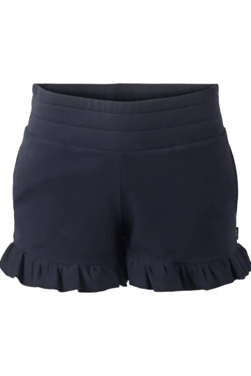 Navy kort shorts med volanger Ella&Il - tika thorts