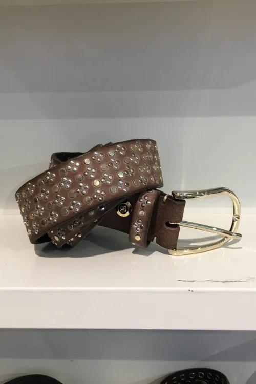 Belte 'Tessa gold' belte med studs b.belt - BB0717L79 tessa gold color 0680