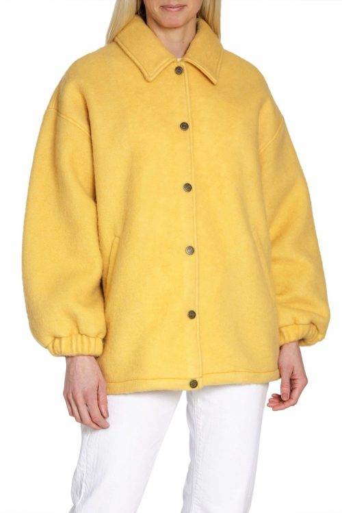 Bringebær eller gul ulljakke American Vintage – zabi17B