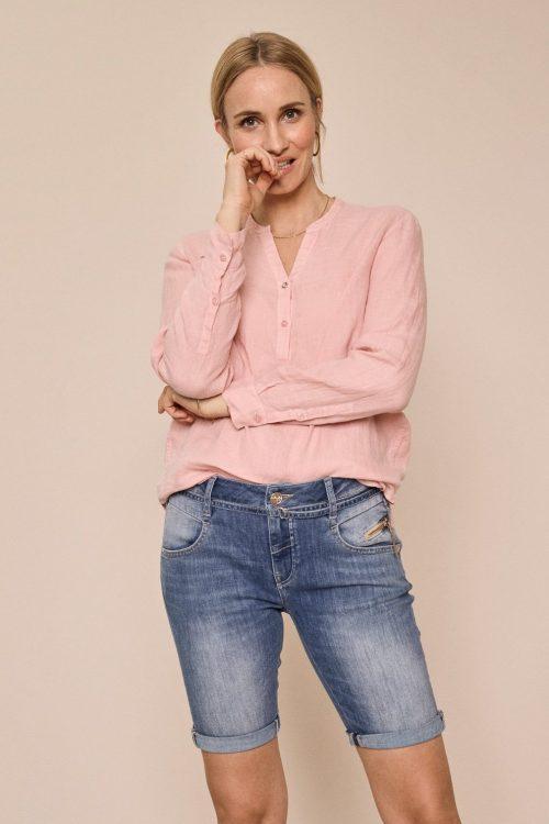 Jeans short med glidelås ved lomme Mos Mosh - 138810 nelly string shorts