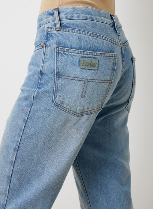 Rett kraftig jeans med skult knapper Lois - 2666-6360 Kape Daddy Dana