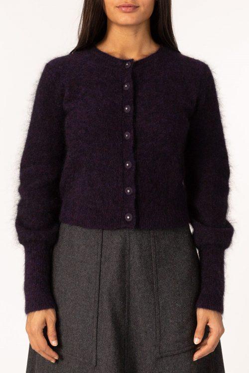 sort soft mohair cardigan Cathrine Hammel - soft petit cardigan