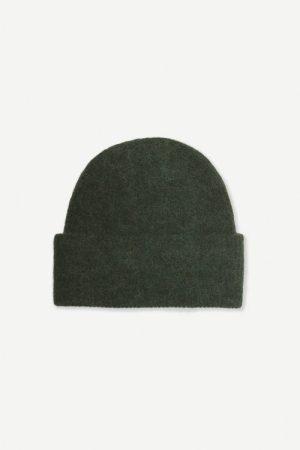 Alpakka lue i mange farger Samsøe - 7355 nor hat / duffel bag melange