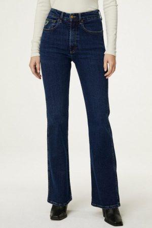Mellommørk denim 'Riley' highwaist jeans Lois Jeans - 2626-6508 riley button darknes L32/L34