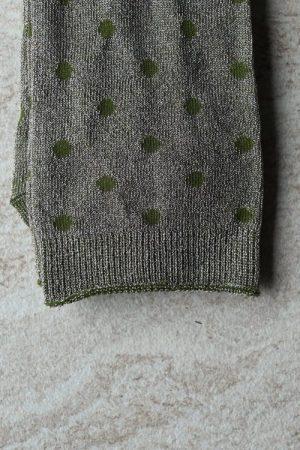 Green dot sokk MP Denmark - 79662-3010 Donna 52% Polyamide, 44% Metallic, 4% Elastane.